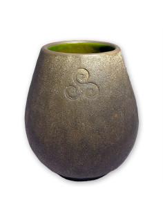 Ceramic Gourd - Triskelion