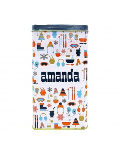 Dispenser (tin) 4 season with Amanda 500g
